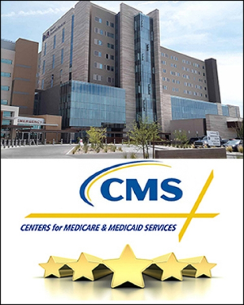 "Teaser image for story on Medicare ""Star"" quality ratings for area hospitals"