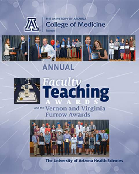 Teaser image for story on UArizona College of Medicine - Tucson's 40th annual teaching awards call for nominations