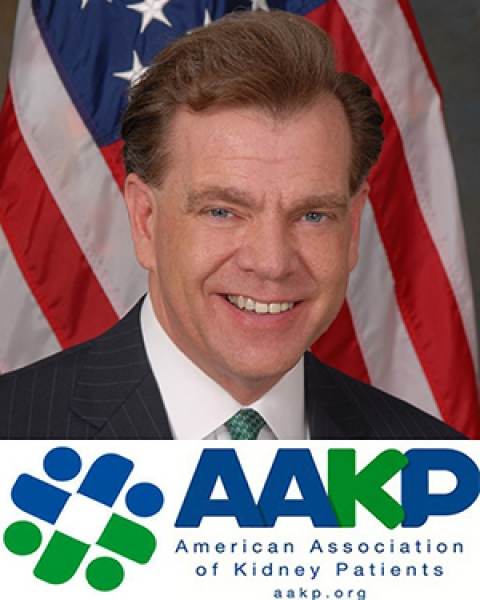 Paul T. Conway with AAKP logo