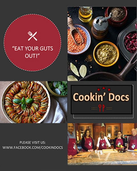 Teaser image of Cookin' Docs brochure for this story - ratatouille.