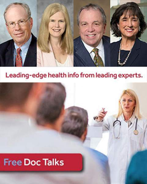 Image promoting Fall 2018 Doc Talk lecture series