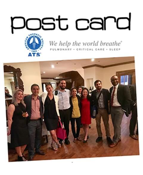 Postcard from UA Department of Medicine at ATS 2017