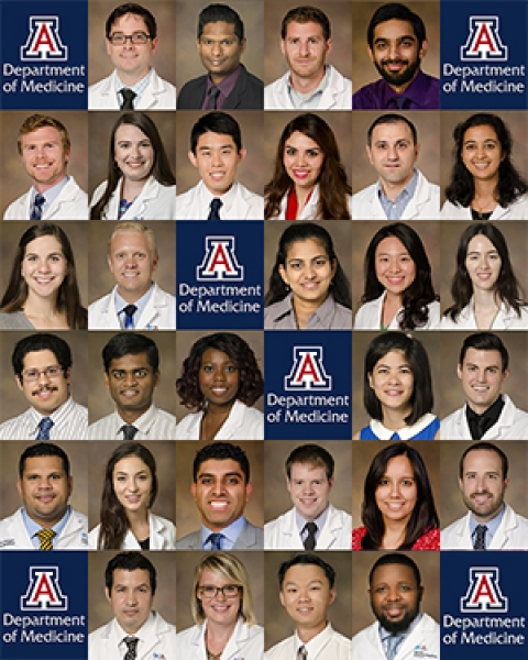 UA Department of Medicine Fellowship matchees