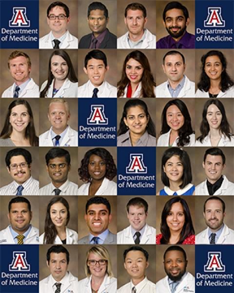 UA Department of Medicine Fellowship matchees