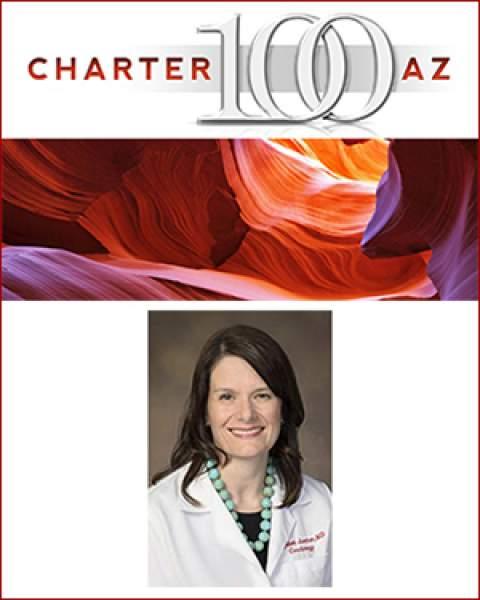 Teaser image for Dr. Elizabeth Juneman's induction into Charter 100 AZ