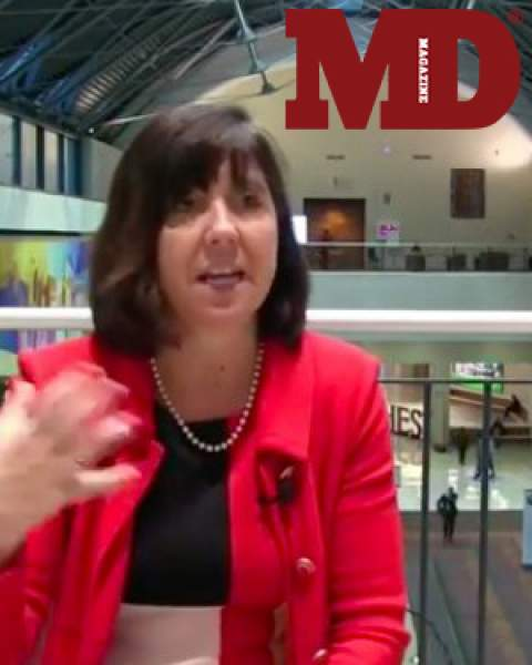 Dr. Monica Kraft at CHEST 2018 annual meeting as illustrated in MD Magazine article/video