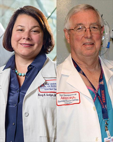 Drs. Nancy Sweitzer and Karl Kern