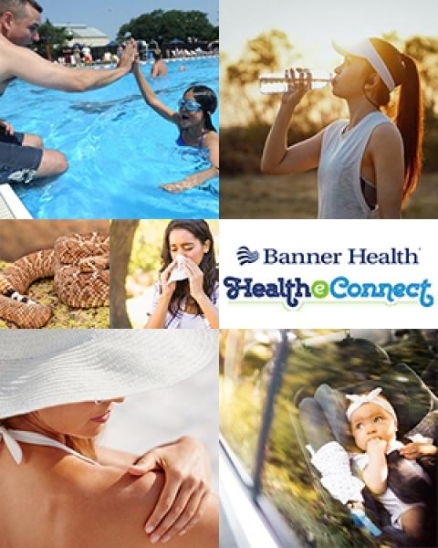 Teaser image for story on Banner Health eConnect newsletter tips for summer