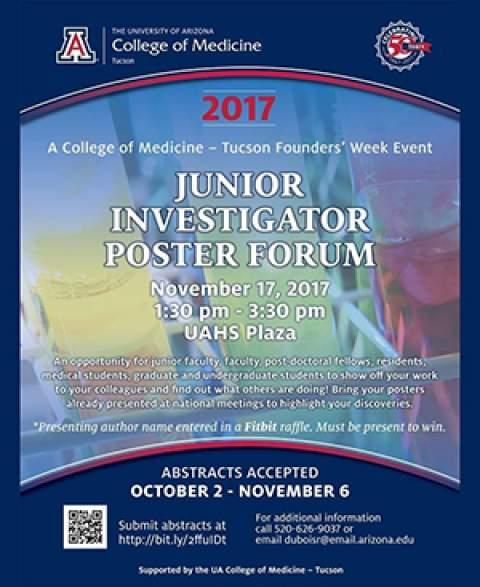 Founder's Day Junior Investigator Poster Forum flyer image