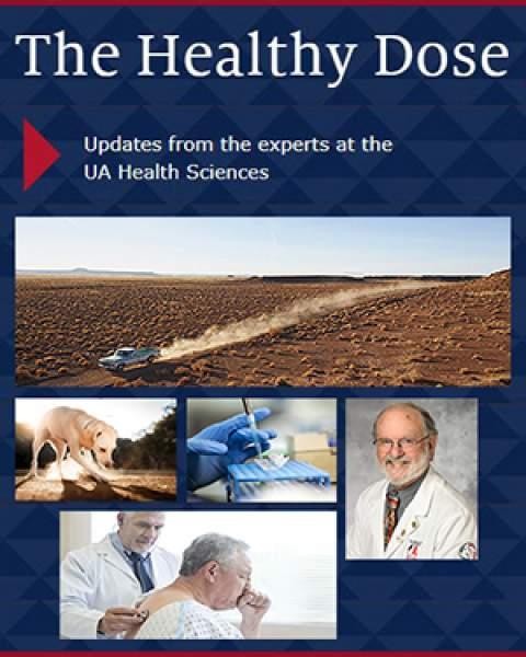 Teaser image for UAHS Healthy Dose blogpost on Valley fever