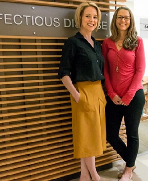 Alyssa Guido and Shannon Smith