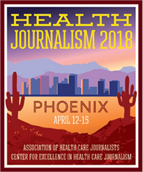 AHCJ Health Journalism 2018 logo