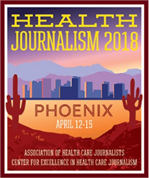 AHCJ Health Journalism 2018 logo
