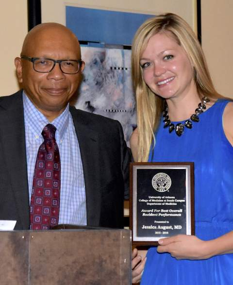 Drs. Gene Trowers and Jessica August