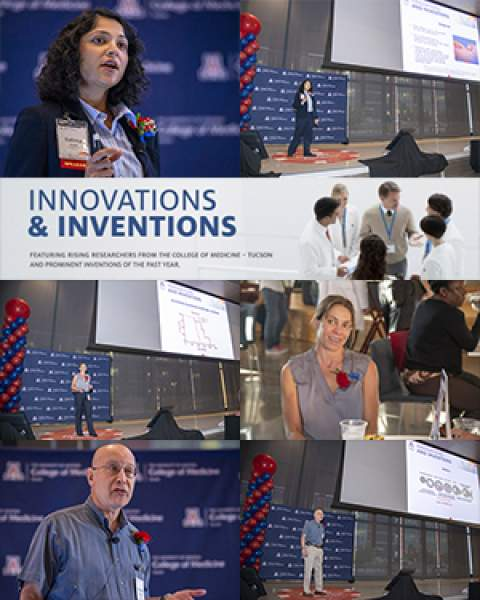 Teaser image for story on 3rd Annual Innovations & Inventions Research Fair at the UA College of Medicine – Tucson