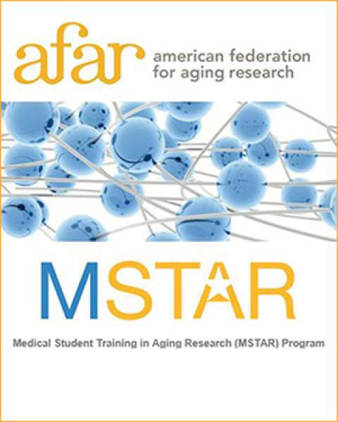 Medical Student Training in Aging Research (MSTAR) Program and American Federation for Aging Research logos