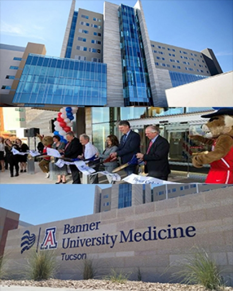 Teaser image for new hospital tower at Banner – UMC Tucson