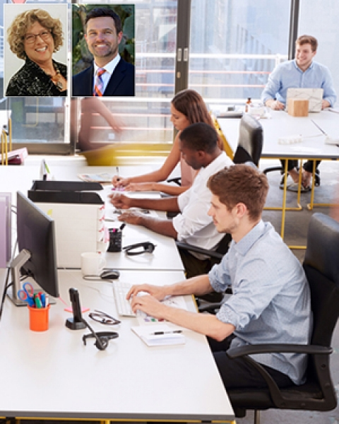 University of Arizona Drs. Esther Sternberg and Casey Lindberg publish paper on office space and your health