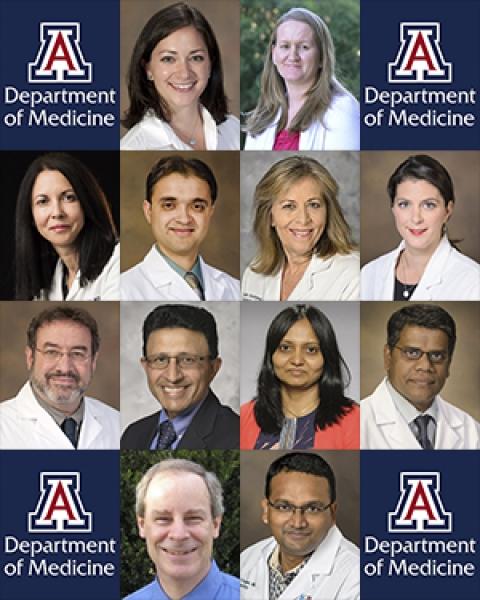 Dozen physicians get promotion & tenure advancement in UA Department of Medicine