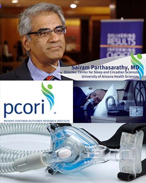 Image collage for Dr. Sairam Parthasarathy story on sleep medicine studies