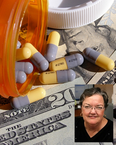 Teaser image for article in impact of high drug prices on elderly financial stability