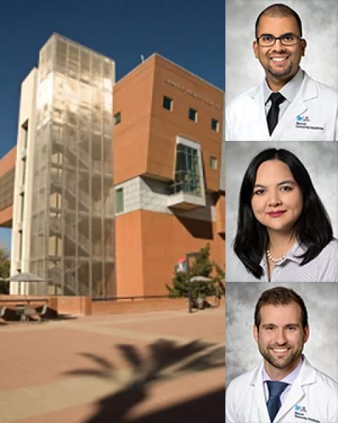 Sarver Heart Center with Drs. Tushary Acharya, Olivia Hung and Nader Makki