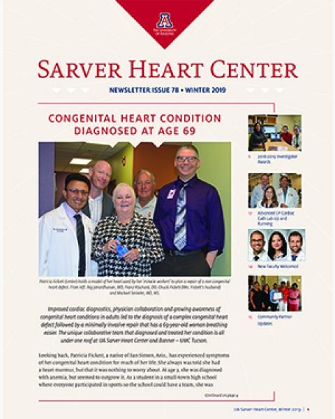 Teaser image of Sarver Heart Center Newsletter for this story.