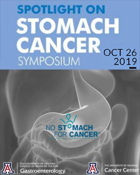 Teaser image for Spotlight on Stomach Cancer Symposium, Oct. 26, 2019, in the UA Health Sciences Innovation Building
