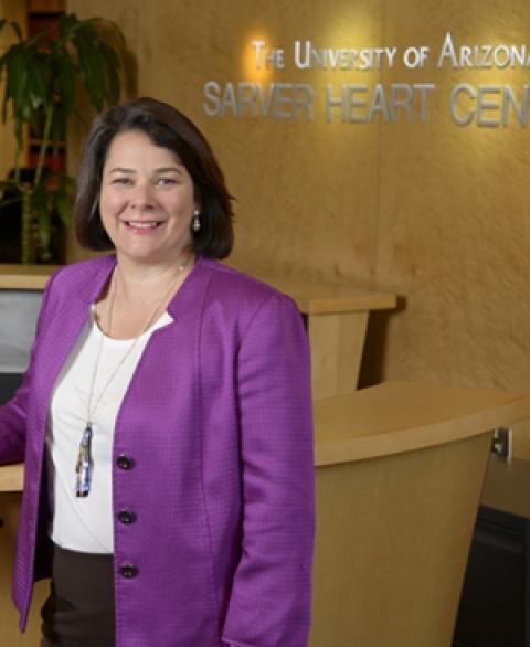 Nancy K. Sweitzer, MD, PhD, at UA Sarver Heart Center