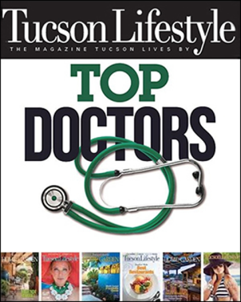 "Teaser image for story on preview of Castle Connolly ""Top Doctors"" list used by Tucson Lifestyle for June celebration of local physicians"