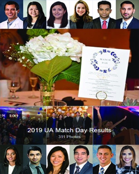 Teaser image for article on Match Day 2019 at the UA College of Medicine – Tucson