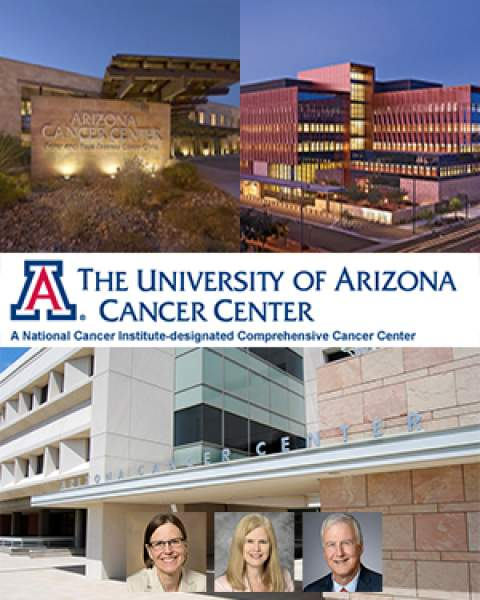 Teaser image for announcement of leadership transition at University of Arizona Cancer Center