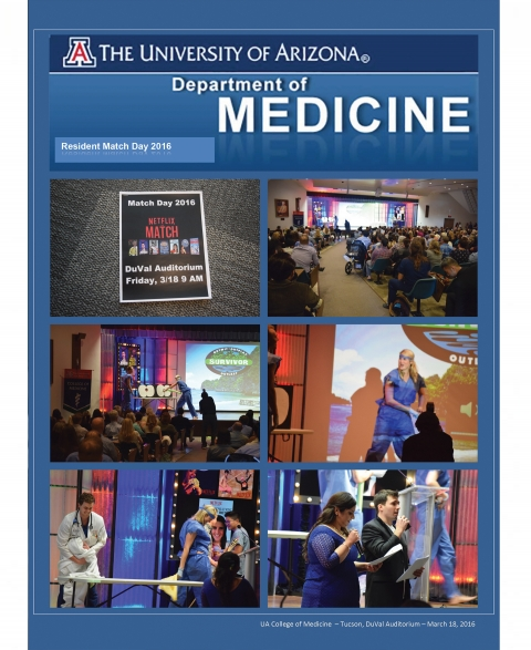 Photo spread of Match Day at the University of Arizona College of Medicine Tucson