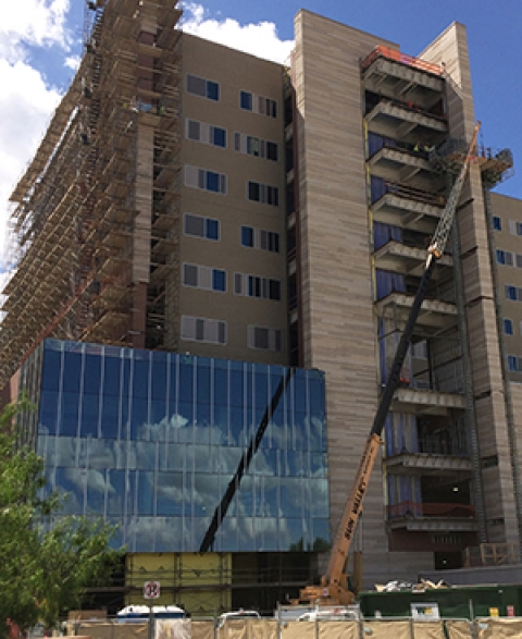 New Banner - University Medical Center Tucson hospital tower