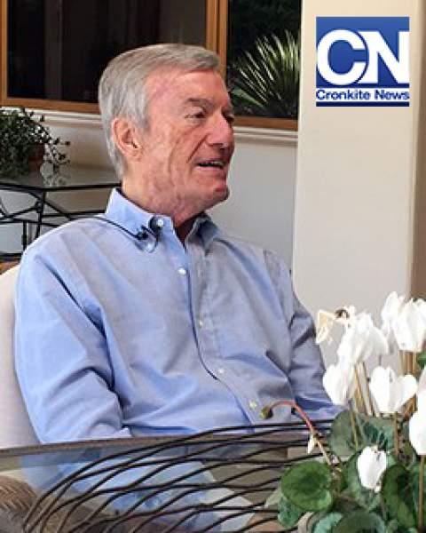Jim Meenaghan, a Valley fever survivor, interviewed by Cronkite News