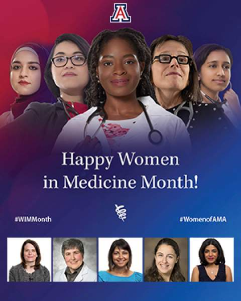 Teaser image for Women in Medicine celebration of female physicians at University of Arizona