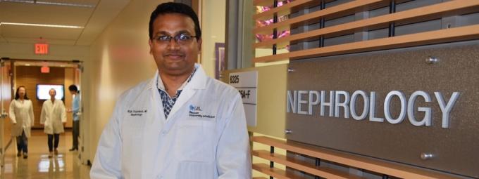 Nephrologist Bijin Thajudeen, MD, MBBS