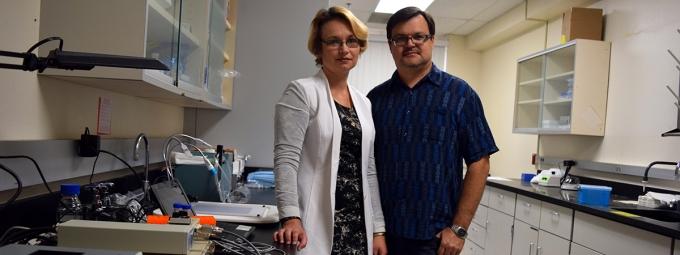 Drs. Olga Rafikova and Ruslan Rafikov