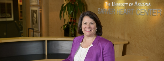 Nancy K. Sweitzer, MD, PhD, at UA Sarver Heart Center