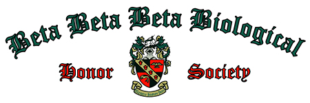 Beta Beta Beta Biological Honor Society logo