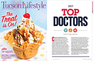 Tucson Lifestyle Top Doctors issue - July 2017