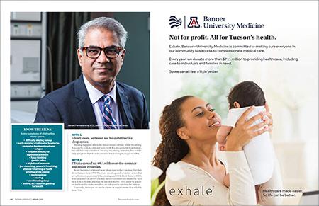 Dr. Sai Parthasarathy featured in Tucson Lifestyle article on sleep apnea
