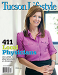 "Tucson Lifestyle magazine's ""2012 Best Doctors"" in July issue"