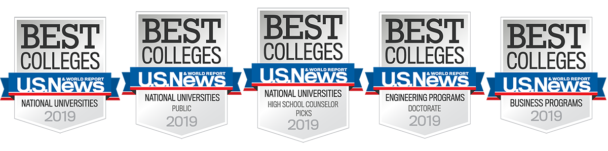 U S  News Names UA One of the Nation's Top 50 Public