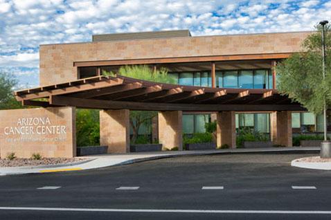 University of Arizona Cancer Center – North Campus entrance