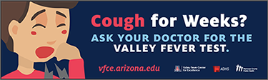 Image of billboard used Phoenix Valley fever awareness campaign