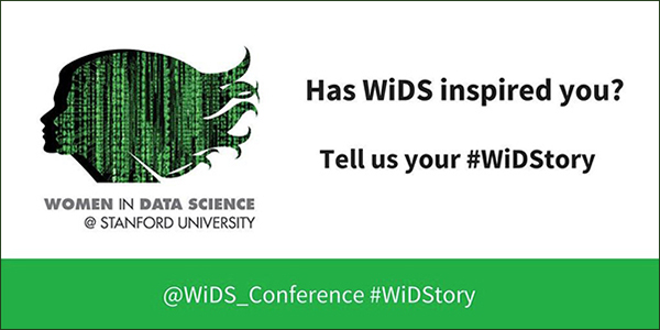 Banner image for Women in Data Sciences (WiDS) Conference 2019