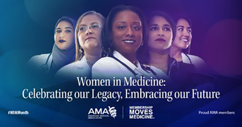 Women in Medicine banner - Celebrating our legacy, embracing our future