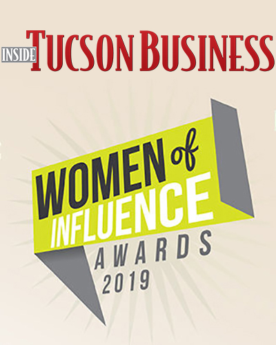 Inside Tucson Business' Women of Influence Awards 2019 logos
