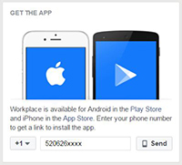 Workplace mobile app